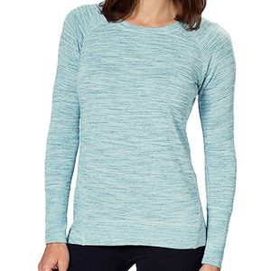 NWT Champion parrot blue tee top XL 16